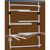 Taylor Gifts Over Door Laundry Dryer Folding Clothes Drying Rack