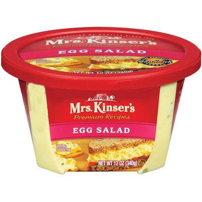 Mrs. Kinser's  Egg Salad 12 Oz Tub