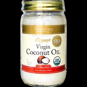 Spectrum Culinary Organic Unrefined Virgin Coconut Oil (14 oz)