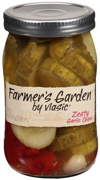 Farmer's Garden™ by Vlasic® Zesty Garlic Chips 26 fl oz Jar