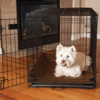 K & H Manufacturing Odor-Control Crate Pad Crate Cover Color: Mocha, Size: 0.5