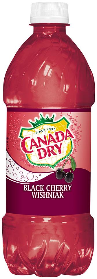 Canada Dry Black Cherry Wishniak Soda