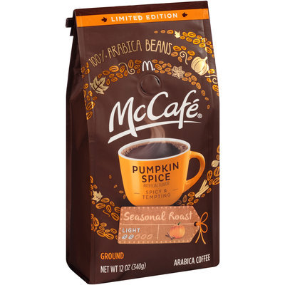 McCafe Limited Edition Pumpkin Spice Ground Coffee 12 oz. Bag