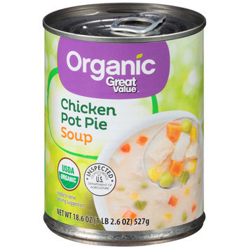 Great Value™ Organic Chicken Pot Pie Soup 18.6 oz. Pull-Top Can