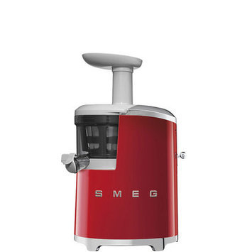 Smeg 50s Style Slow Juicer Color: Red