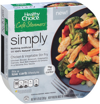 Healthy Choice® Cafe Steamers® Chicken & Vegetable Stir Fry 9.25 oz. Bowl