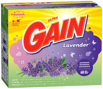 Gain® Ultra Lavender with FreshLock Powder Laundry Detergent