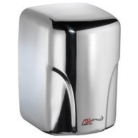 American Specialties Turbo-Dri High Speed Surface Mounted 120 Volt Automatic Hand Dryer Finish: Bright Stainless Steel