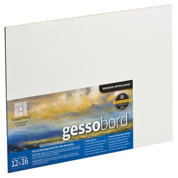 Ampersand GBS12 12 in. x 16 in. Gessobord Flat