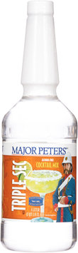 Major Peters'® Triple Sec Alcohol Free Cocktail Mix 1L Bottle