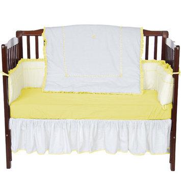 Baby Doll Bedding Unique 4 Piece Crib Bedding Set Color: Yellow