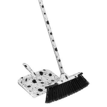 Superior Performance 2 Piece Splash Broom and Dustpan Set