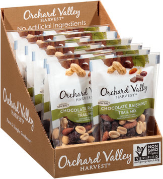 Orchard Valley Harvest® Chocolate Raisin Nut Trail Mix 2.25 oz. Bag
