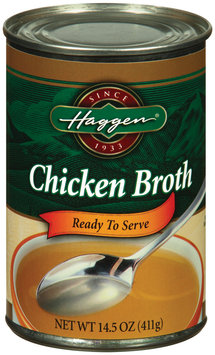 Haggen Ready to Serve Chicken Broth 14.5 Oz Can