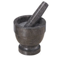 Creative Home Marble Mortar and Pestle, 4.75 H x 4.75 W x 4.75 D