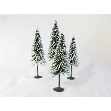 SCP Scenic Snow Spruce Tree (Pack of 4)