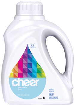 Cheer 2X Ultra Free & Gentle Liquid Laundry Detergent 40 fl. oz. Bottle