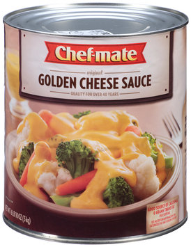 Chef-Mate® Golden Cheese Sauce 6.62 lb. Can