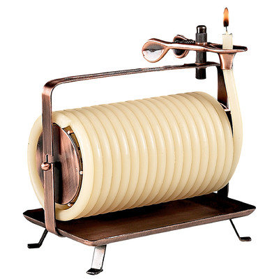 Eclipse Home Decor Llc Eclipse Home Decor, LLC 80 Hour Horizontal Coil Candle 20603B