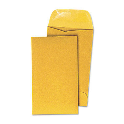 Universal Products Universal Office Products Kraft Coin Envelope Light Brown 500/box