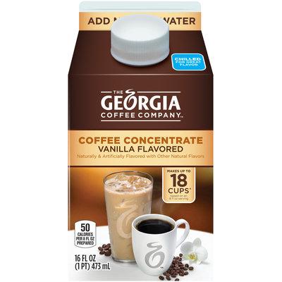 Georgia™ Vanilla Flavored Coffee Concentrate 16 fl. oz. Carton