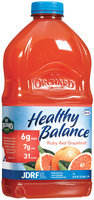 Old Orchard Healthy Balance Ruby Red Grapefruit Juice Cocktail  64 Oz Plastic Bottle