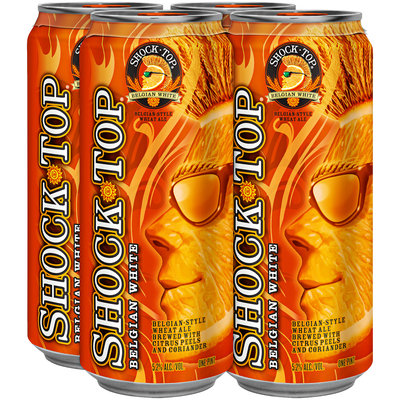Shock Top 16 Oz Single & Beer 4 Pk Cans