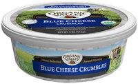 Organic Valley® Blue Cheese Crumbles 4 oz. Tub