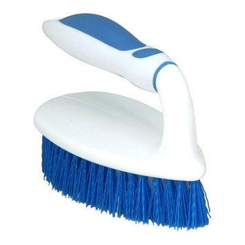 Superior Performance Superio Brand Scrubbing Brush with Rubber Grip Handle