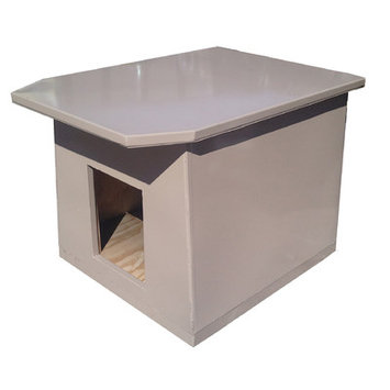 K9 Kennel Insulated Steel Dog House