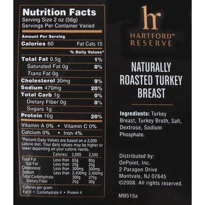 Hartford Reserve™ Naturally Roasted Turkey Breast