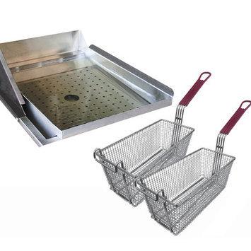 Cal Flame Grill Tools Deep Fryer Accessories Helper Set BBQ09902
