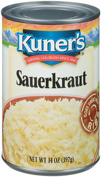 Kuner's  Sauerkraut 14 Oz Can
