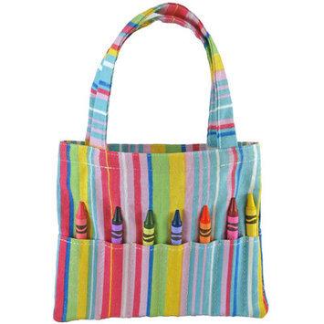 Princess Linens 166P Doodlebugz Crayola Crayon Purse- Pink Stripe