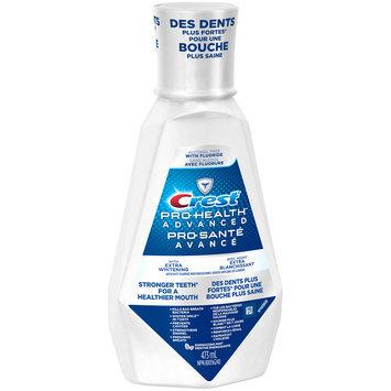 Pro Health Advanced Crest Pro-Health Advanced Extra Whitening Mouthwash, 473 mL