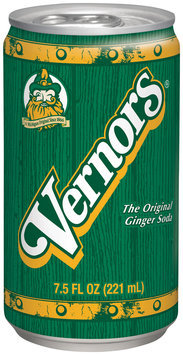 Vernors® The Original Ginger Soda 6-7.5 fl. oz. Cans