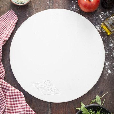 Alfresco Home Llc Fornetto 14 in. Round Ceramic Pizza Stone