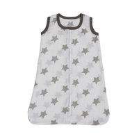 Bacati Stars Sleep Sack Color: Grey, Size: Newborn
