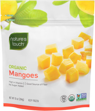 Nature's Touch™ Organic Mangoes 10 oz. Stand-Up Bag