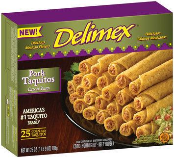 Delimex® Pork Taquitos 25 ct Box