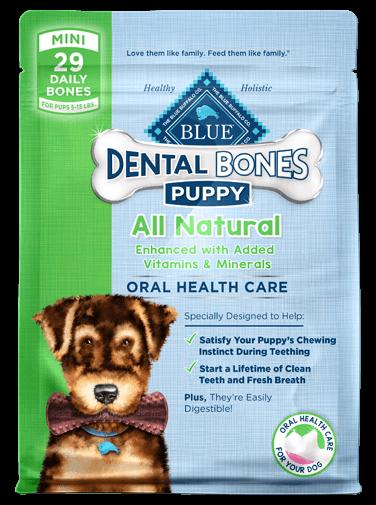 THE BLUE BUFFALO CO. BLUE™ Dental Bones™ Mini Size For Puppies