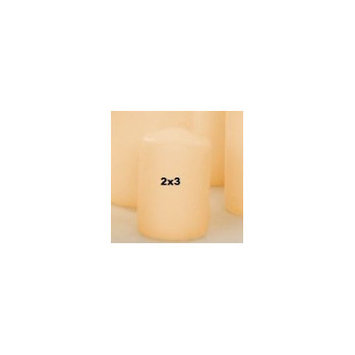 Light In The Dark Unscented Pillar Candles (Set of 4)