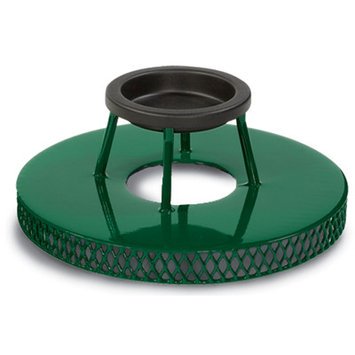 Anova Expanded Ash / Trash Top for 32 Gallon Receptacle Finish: Green