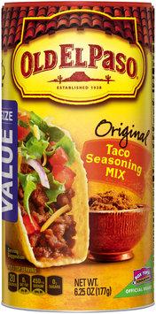 Old El Paso® Original Taco Seasoning Mix 6.25 oz. Canister