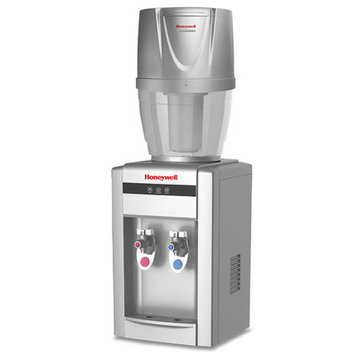 Honeywell Tabletop Water Cooler Dispenser with Filtration System Color: Silver
