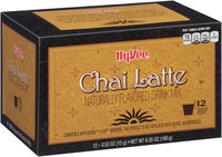 Hy-Vee® Chai Latte Single Serve Cup Drink Mix 12 ct Box