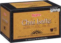 Hy-Vee® Chai Latte Single Serve Cup Drink Mix 12 ct Box