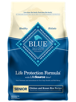 THE BLUE BUFFALO CO. BLUE™ Life Protection Formula® Chicken and Brown Rice Recipe For Senior Dogs