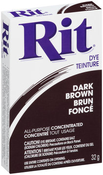 CN - Rit® Dark Brown All-Purpose Concentrated Dye 32g Box