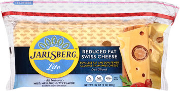 Jarlsberg® Lite Reduced Fat Swiss Cheese 32 oz. Twin Stack Pack, Club